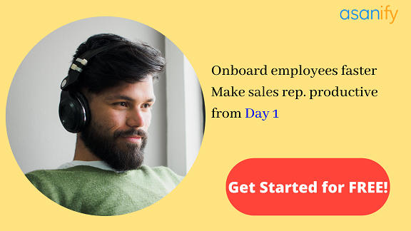 Sales onboarding made easy with Asanify